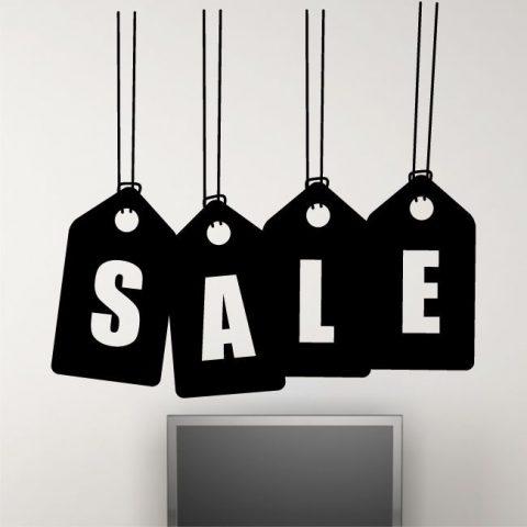 SALE hangers poster